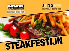 Affiche Steakfestijn
